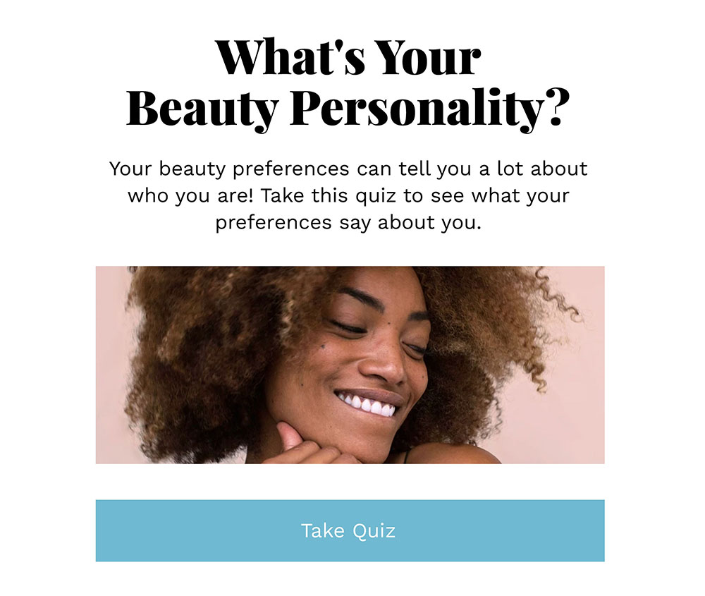 Personality Quizzes